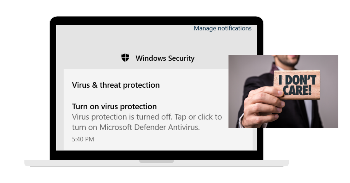 Ignore-security-notification