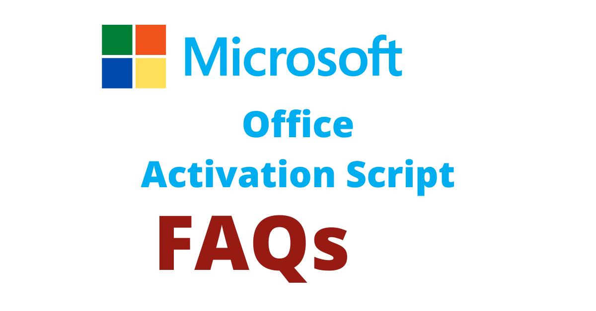 Microsoft-Office-activation-script-faq